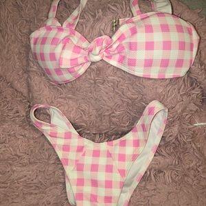 Plaid Bikini